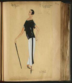 Lanvin Sport. SPORT CANNES 1922-1923 © Patrimoine Lanvin.