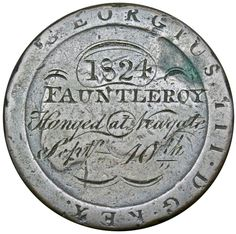 , The Public Execution of Henry Fauntleroy, 1824. A privately-engraved memento on a 'Cartwheel' Penny of the hanging of Banker,… / MAD on Collections - Browse and find over 10,000 categories of collectables from around the world - antiques, stamps, coins, memorabilia, art, bottles, jewellery, furniture, medals, toys and more at madoncollections.com. Free to view - Free to Register - Visit today. #Coins #Tokens #MADonCollections #MADonC