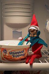 Creative hiding spots for Elf on the Shelf