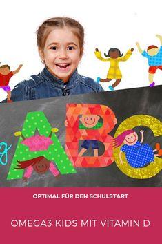 Für eine normale geistige und körperliche Entwicklung Ihres Kindes! Perfekt für den Schulstart! Omega 3, Co2 Neutral, Kids Rugs, Vegan, Decor, School Routines, Kids, Action, Game
