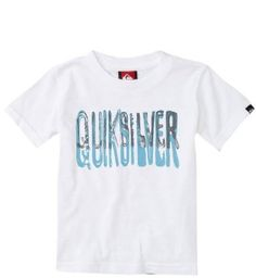 Quiksilver Baby-boys Infant Stroker Tee, White, 6-9 Months Quiksilver. $13.00