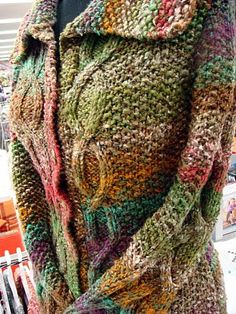 Kogarashi Cardigan made by Martine