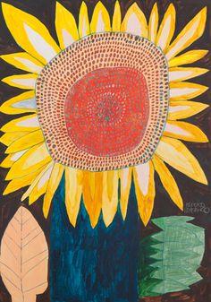 Sunflower by Miroco Machiko (b. 1981), Japanese (mirocomachico)