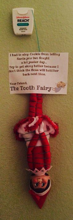 Elf on the shelf lost tooth