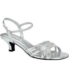 aa8fc07a588f4f Touch Ups Women s Dakota Silver Sandal - Wide Width Available