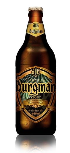 cerveja burgman stout 600ml