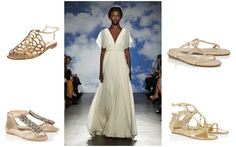 Shoe style inspiration: TL: Oscar de la Renta   TR: Jimmy Choo| BL: Jimmy Choo | BR: Jimmy Choo  Wedding Shoe Style Inspiration - Nu Bride