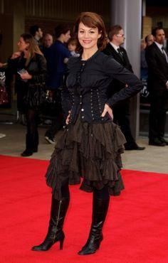 Helen McCrory in a fantastic skirt