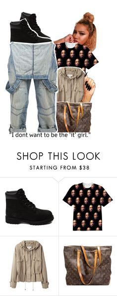 """""""2⃣️©"""" by fashionkilla-lex ❤ liked on Polyvore featuring Timberland, Étoile Isabel Marant, Louis Vuitton and Crafted"""