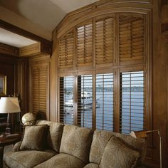 Custom Doors, Cabinetry and Shutters Cabinet Molding, Wood Shutters, Shutter Doors, Shades Blinds, Window Dressings, Classic Elegance, Windows And Doors, Wood Furniture, Window Treatments