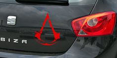 pegatina rogue crest assassin's creed