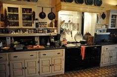 meat n eat kitchen with aga cooker