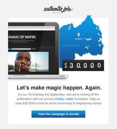 Authentic Jobs email design
