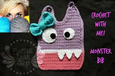 Crochet With Me!: Baby Monster Bib