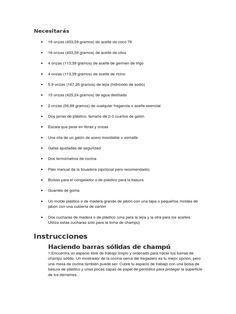 Elaboracion manual Shampoo Solido Natural Ayurveda, Aloe Vera, Shampoo Bar, Cosmetics, Website, Sd, Soups, Nature, Handmade