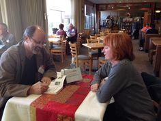 Book signing @kripalu - Having a wonderful time teaching my #reiki #shamanism class.