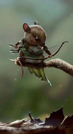 Archery mouse