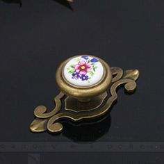 Rustico retro rural ceramic furniture knobs white blue porcelain drawer cabinet knob bronze dresser pull backplane antique brass. Yesterday's price: US $7.60 (6.27 EUR). Today's price: US $7.60 (6.24 EUR). Discount: 5%.