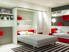 cama dobrável embutida - Pesquisa Google
