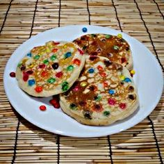The best m&m pancakes