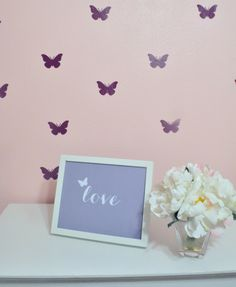 New Product: Butterfly Decals –