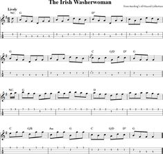 Free mandolin tab and sheet music for The Irish Washerwoman (alternate version) along with many other titles. Mandolin Songs, Mandolin Lessons, Printer Driver, Hp Printer, Free Violin Sheet Music, Ukulele, Guitar, Celtic Music, Lyrics And Chords