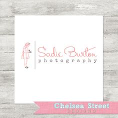 Premade logo and watermark design  vintage by chelseastreetdesigns, $25.00