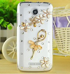 New Dancing Crystal Girl flowers Clear Back Skin transparent Case Bling Diamond Cover for Nokia Lumia 930 630 1020 530 #Affiliate