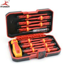 US $30.24 13 Pcs VED Insulated Screwdriver Set CR-V High Voltage 1000V Magnetic Phillips Slotted Torx Screwdriver Durable Hand Tools. Aliexpress product