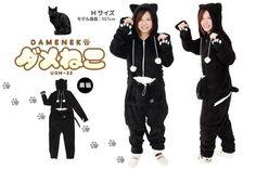 Dameneko Cat Jumpsuit with Pet Pouch