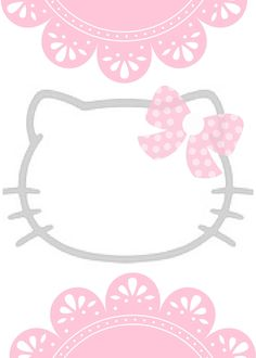 Hello Kitty Wedding, Hello Kitty Birthday, Hello Kitty Backgrounds, Hello Kitty Wallpaper, Hello Kitty Invitations, Superman Wallpaper, Hello Kitty Photos, Free Printable Birthday Invitations, Cute Frames