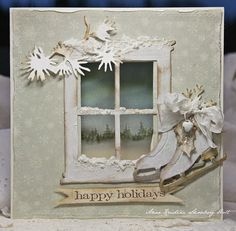 Crafting ideas from Sizzix UK: Winter Wonderland made for cathy and suzette
