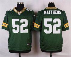 Nike Green Bay Packers  52 Clay Matthews Green Elite Jersey Cheap Nike 86505b239