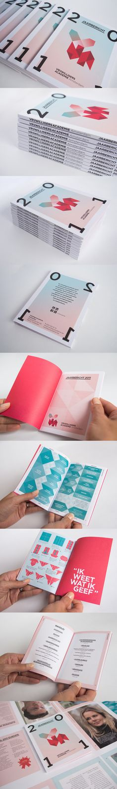 vrijwilligersacademie amsterdam 2011 annual report: by da costa design