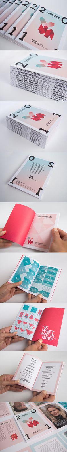 vrijwilligersacademie amsterdam 2011 annual report: by da costa design