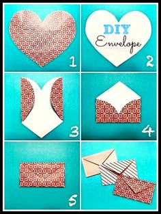 how to make an envelope from printer paper