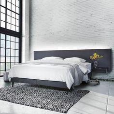 Yatsan Hat Licht Und Sound In Das Kopfteil Integriert, Für Noch Mehr Luxus  Und Komfort.