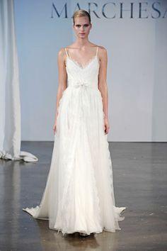 Marchesa Bridal Spring 2014 - The Best Looks from Bridal Fashion Week: Spring 2014 - Harper's BAZAAR