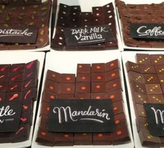 Delicious and beautiful chocolates from Metropolitan in Amsterdam!