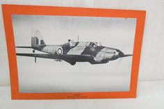 Vintage WWII Plane Picture and Statistics Fairey British Bomber and Fighter English by KansasKardsStudio on Etsy