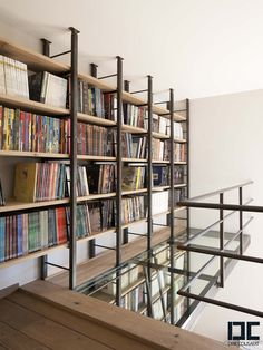 Perfect library for an architect! Furniture | Dirk Cousaert