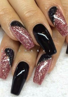 What Christmas manicure to choose for a festive mood - My Nails Fabulous Nails, Gorgeous Nails, Stylish Nails, Trendy Nails, Fancy Nails, Cute Nails, Acrylic Nail Designs, Nail Art Designs, Nails Design
