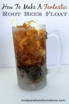 How To Make A Fantastic Root Beer Float.