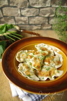 Pierogi, Potato Salad, Cauliflower, Food And Drink, Potatoes, Dinner, Vegetables, Ethnic Recipes, Pasta Meals