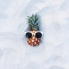 One cool pineapple.