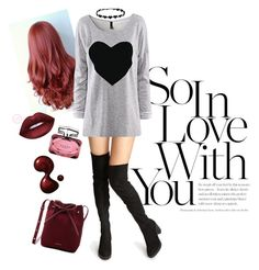 """""""So In Love With You"""" by aspashley on Polyvore featuring Gucci and Mansur Gavriel"""