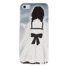 Angel Pattern PC Hard Case for iPhone 5/5S – USD $ 2.99