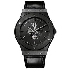 """Hublot Ceramic Classic Fusion Shawn Carter """"JAY Z"""" Limited Edition Wristwatch 