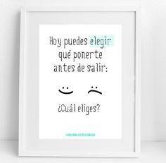 Hoy puedes elegir qué ponerte antes de salir:  o  Cuál eliges?  www.virusdlafelicidad.com  #virusdlafelicidad #buenosdias #pensamiento #frase #frases #frasedeldia #actitud #mensaje #barcelona #optimismo #felicidad #frasevirus #inspiracion