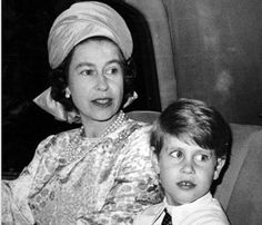 ladymollyparker:  HM Queen Elizabeth II with her youngest son HRH The Prince Edward